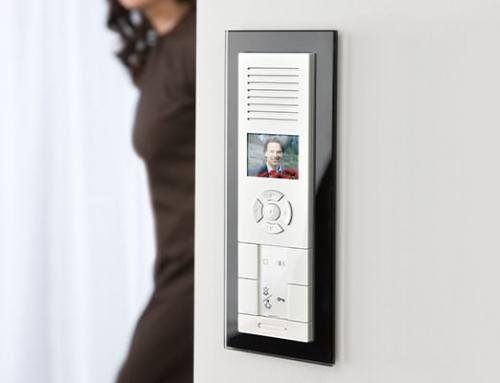 Siguranţa unui acces controlat cu ajutorul interfonului/videointerfonului
